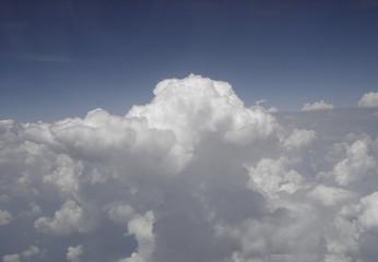 Billowy Clouds at 30,000 feet