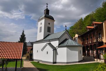 Manastir Sretenje - Orthodox monastery on Ovcar mountain, Serbia