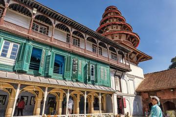Inside the Royal Palace, Durbar Square, Kathmandu, Nepal
