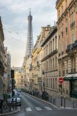 Straßenszene in Paris, Frankreich