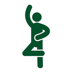ballet pose icon