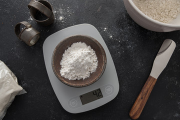 42 grams of superfine white rice flour