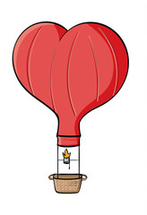Heart-Air Balloon