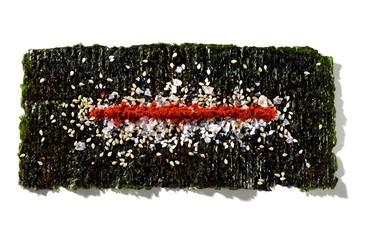 Dried nori seaweed snack