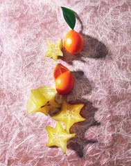 Starfruit and kumquats