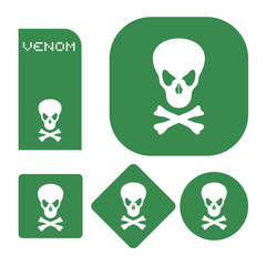 Venom symbols