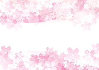 桜たくさん ピンク