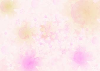 ピンクの花 桜イメージ