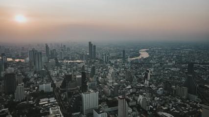 Bangkok drone photo