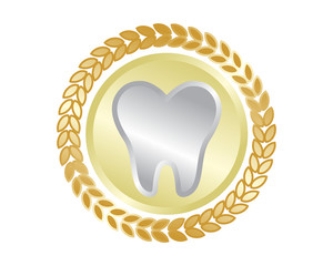 silver tooth teeth dental dentist dent image icon