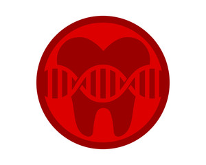 red cell tooth teeth dental dentist dent image icon