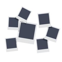 Frames set. Photo frame. Photo frame background. Photo frame vector illustration.