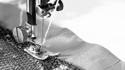 Sewing machine, close-up, object