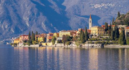 Landscape of town of Varenna, Como Lake