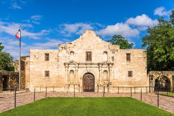 Wall Murals Fortification The Alamo in San Antonio, Texas, USA.