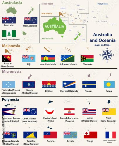 Australia and Oceania(include Australasia, Micronesia ...