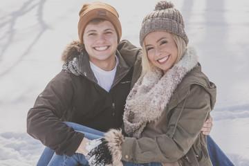 Sleigh Fun Couple