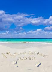 Malediven Strandtext 2019