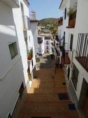 Tolox, pueblo de Málaga, Andalucía (España)