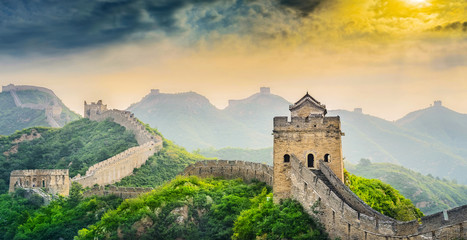 Photo sur Plexiglas Muraille de Chine The Great Wall of China