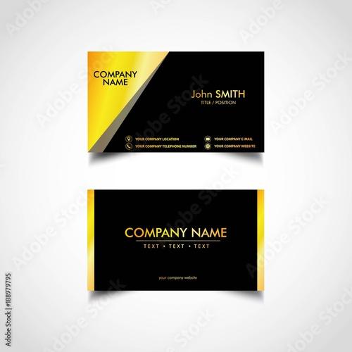 Golden business card template vector illustration eps file stock golden business card template vector illustration eps file wajeb Gallery
