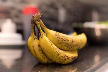 bananas on table top