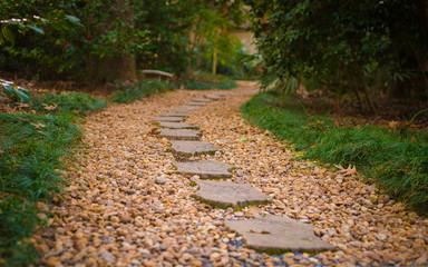 foot stone walkway