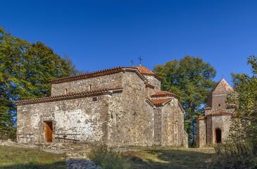 The architectural ensemble Dzveli (Old) Shuamta, Georgia