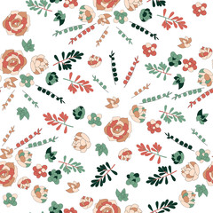 Succulents. Seamless pattern