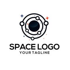space logo vectors template