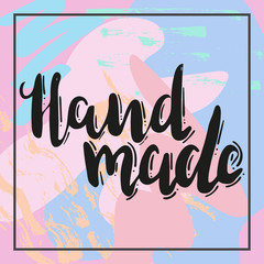 hand made with heart