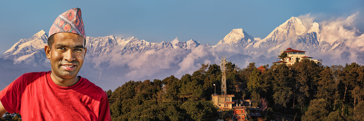 Nagarkot, Local Guide, View on the Himalayan Mountain Range