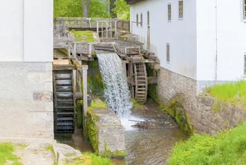 Aluminium Prints Mills Old water mill