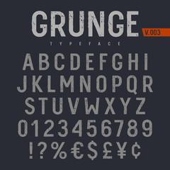 Grunge Font 005