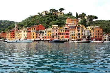 Scenic Portofino in Liguria, Italy