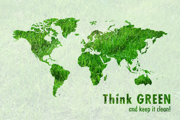 Slogan Go GREEN!