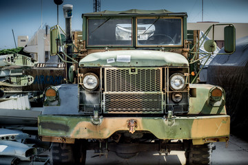 Hawaii Aviation army truck