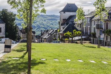 French villa of Najac