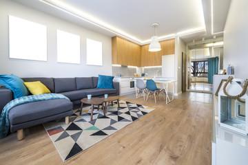 Modern interior design - open space
