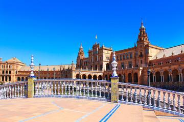 Séville / Andalousie (Espagne) - Plaza de España