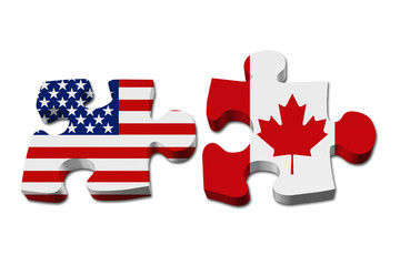 Relationship between the USA and Canada