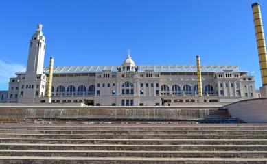 Estadio Olimpico De Montjuic En Barcelona Buy This Stock Photo And
