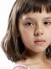 Young Girl Facing Camera