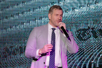 "Mike Cernovich addresses attendees at the ""A Night for Freedom"" event in Manhattan, New York"