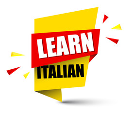 banner learn italian