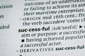 Words in the dictionary shot macro