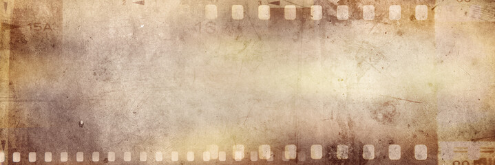 Film strips background Wall mural