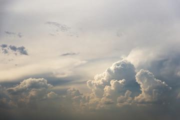 Divine cloudy sky