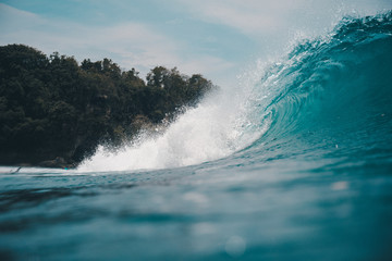Padang Padang waves
