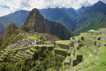 Famous unesco peruvian heritage